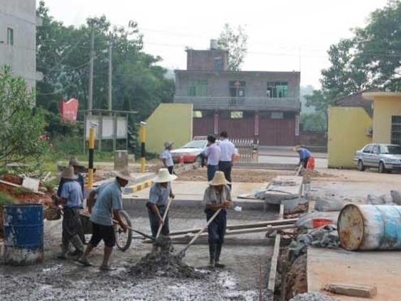 重庆地磅基础施工